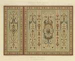 Gobelin-Imitation (Tapestry Imitation) with Template no. 289