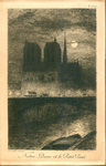 """""""Notre-Dame et le Petit Pont"""""""