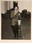 A Photograph Glenn Miller playing trombone