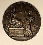 """""""Proclamation de la République, 4 Septembre 1870"""" Obverse"""