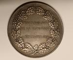 """""""Proclamation de la République, 4 Septembre 1870"""" Reverse"""