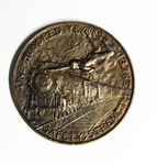 The Baltimore and Ohio Railroad Company Centenary Medal (Obverse)