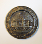 The Baltimore and Ohio Railroad Company Centenary Medal (Reverse)