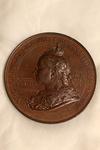 1897 Diamond Jubilee Bronze Medal (Obverse)