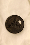 Napoleon III Era Zinc Commemorative Medal (Reverse)