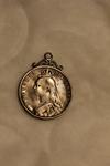 1891 Victoria Coin Pendant (Obverse)
