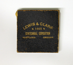 Lewis and Clark Centennial Exposition Commemorative Medal