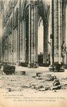 Amiens Cathedral After the Bombing