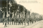 American Soldiers along the Champ-Elyse