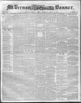 Mount Vernon Democratic Banner April 25, 1854