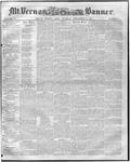 Mount Vernon Democratic Banner September 12, 1854