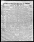 Mount Vernon Democratic Banner April 27, 1858