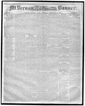 Mount Vernon Democratic Banner February 23, 1858