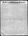 Mount Vernon Democratic Banner April 3, 1860