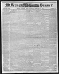 Mount Vernon Democratic Banner February 14, 1860
