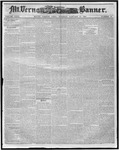 Mount Vernon Democratic Banner January 24, 1860
