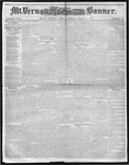 Mount Vernon Democratic Banner March 6, 1860