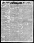 Mount Vernon Democratic Banner January 15, 1861
