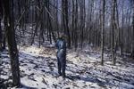 Pat-South woods trail KCES-Snow