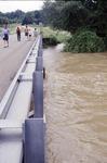 June Flood High Water at Laymon Road Bridge