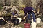 Fall maintenance on Pond Jesse & Pat