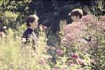 2 Students Talking about Butterflies, Butterfly Garden KCES