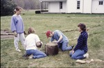 BFEC Butterfly Garden in Progress, Pat, Inese, Ruth, Molly Butler by David Heithaus