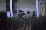 Student observers on porch-Biology 262