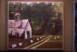 Watercolor Winner: Chapel and Cemetary