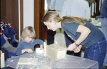 Bluebird houses-Child and Kenyon Student