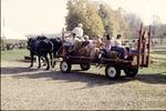 BFEC 5th Anniversary celebration hay ride wagon
