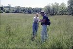 BFEC Guy Denny and Shana West in wetland E Wolf Run