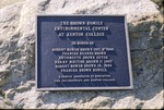 Brown Family Plaque