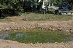 KCES Pond final construction