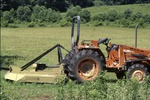 KCES Tractor by prarie, mowing
