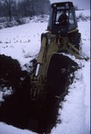 KCES Test Dig in the Snow