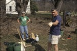 BFEC Prarie transplants, Pat and Guy Planting