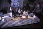 KCES Open House table of snacks by visitor center