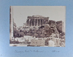 Pelasgian Wall and Parthenon. -- -- -- Athens