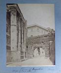Forum of Augustus Rome / Temple of Mars Ultor.