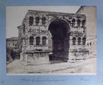 89 Arch of Janus Quadrifrons. – Rome.