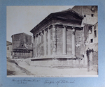 """91 Temple of """"Fortuna"""". / House of Crescentius (XI-XII Cent.)"""
