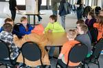 Columbia Elementary children learning