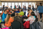 Columbia Elementary children at Borders in Play Show, Kenyon College