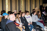 Kenyon students watching the presentation