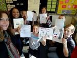 Grace Pilz, Madi Maldonado, and Columbia Students Display their Artwork