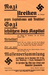 Flier For Nazi Party Meeting
