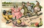 Gruss aus Karlsbad! [Greetings from Karlsbad!]: German Anti-Semitic Postcard