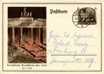 Postcard Commemorating  Nazi Seizure of Power