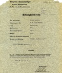 Gestapo Chief Heinrich Muller Signed SS Arrest Document